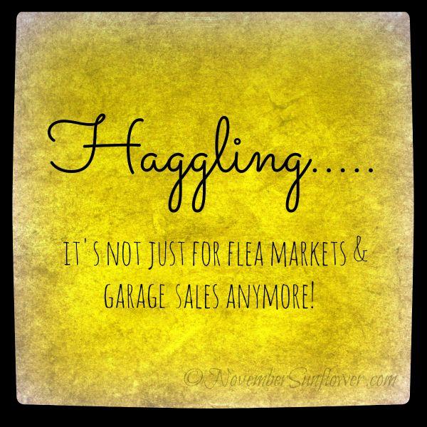 haggling