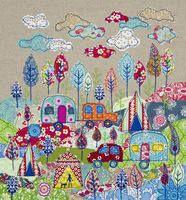 camper van patchwork