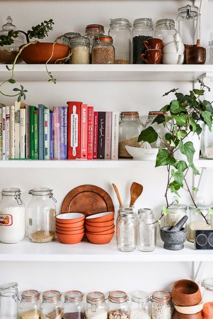 open shelves inspirat apartmenttherapy.com