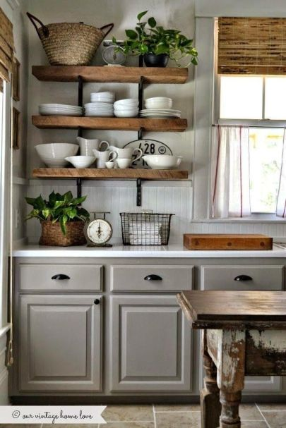 open shelves inspiration unexpectedelegance.com