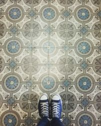 Old Tiles & Old Shoes